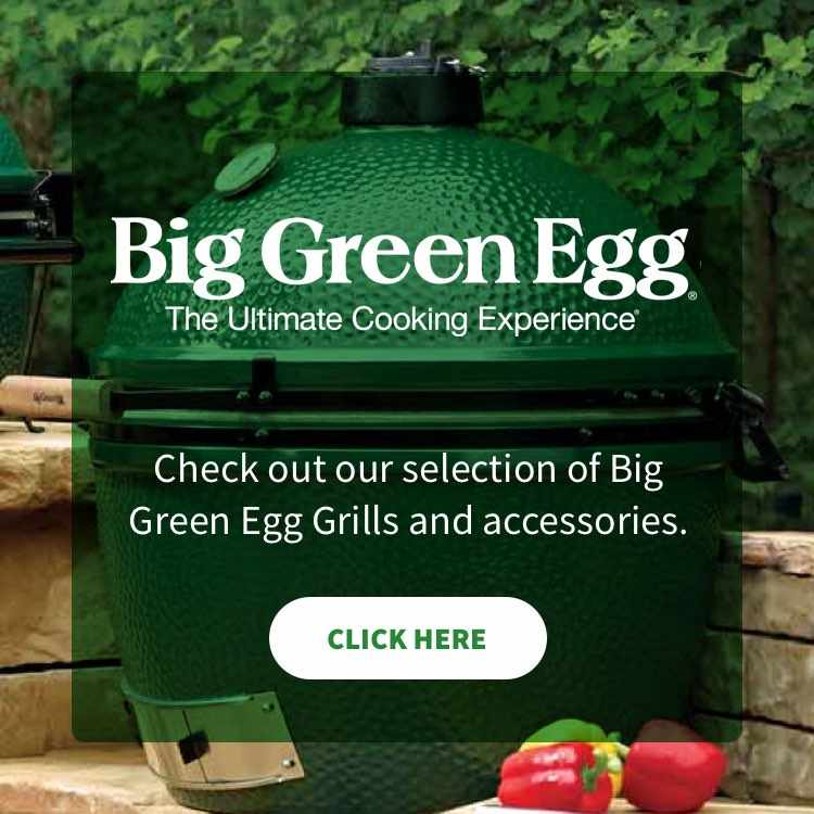 More about Big Green Egg grills at Pryor Lumber