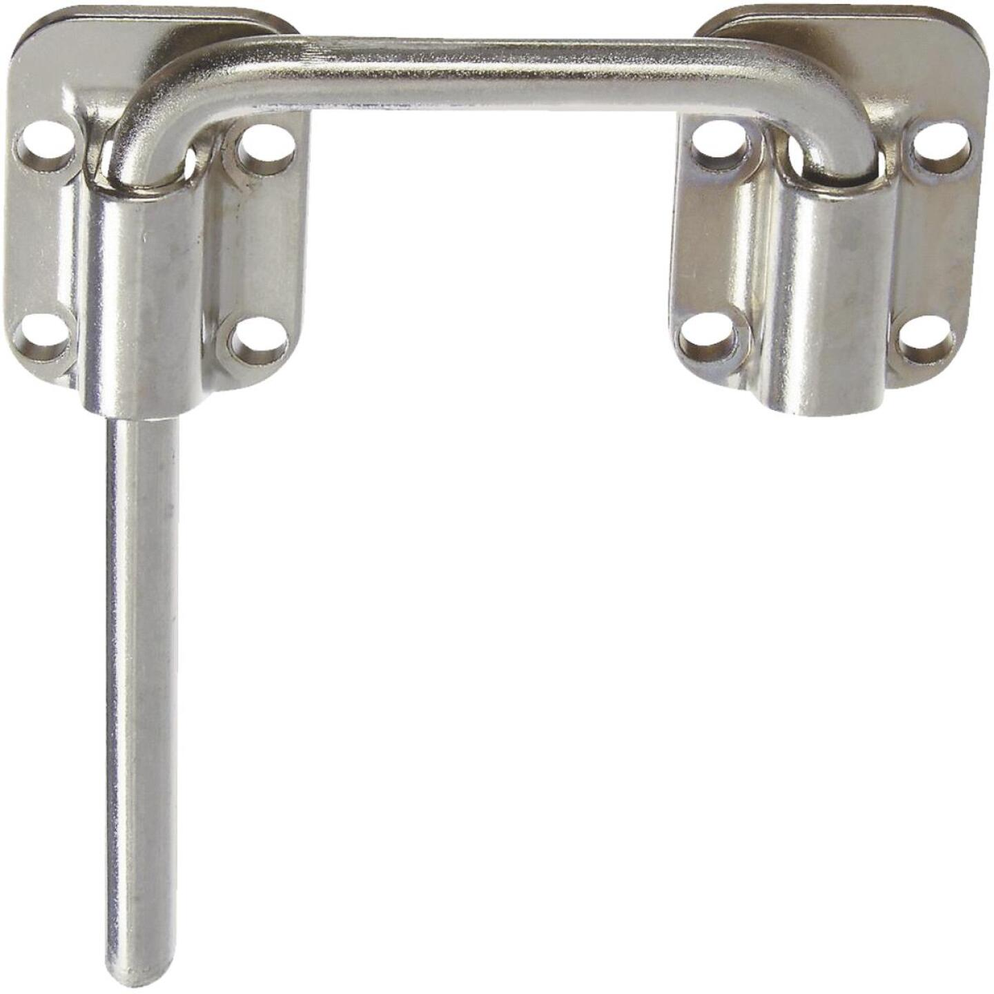 National Door 2-1/2 In. Nickel Slide Bolt Image 1