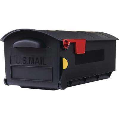 Gibraltar Patriot Plastic Post Mount Mailbox