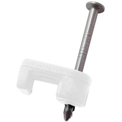 Gardner Bender 3/16 In. Polyethylene UV Resistant Low Voltage Wire Staple (25-Count)