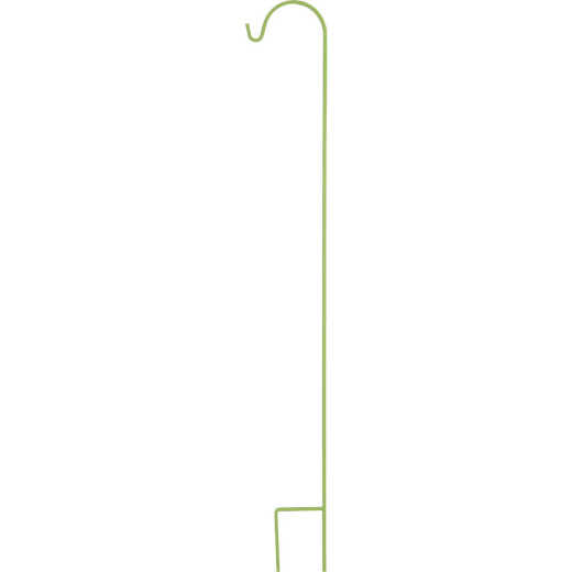 American GardenWorks UrbanGarden 90 In. Leafy Romaine Single Hanger Shepherd Hook