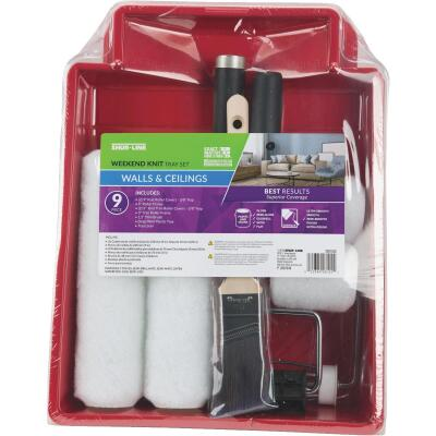 Shur-Line Shur-Flow 9 In. 3/8 In. Knit Roller & Tray Set
