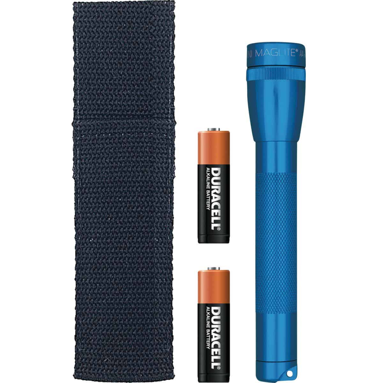 Maglite 14 Lm. Xenon 2AA Flashlight, Blue Image 1